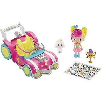 لعبة باربي لعبة فيديو بطل السيارة والشكل تلعب مجموعة أطفال