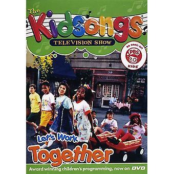 Kidsongs - Lad os arbejde sammen [DVD] USA import