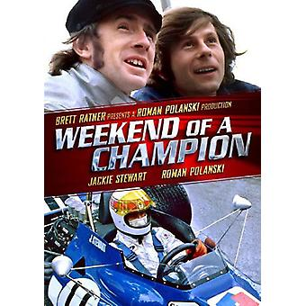 Weekend of a Champion [DVD] USA import