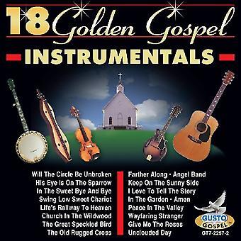 18 oro Evangelio instrumentales - instrumentales de evangelio oro 18 [CD] USA importar