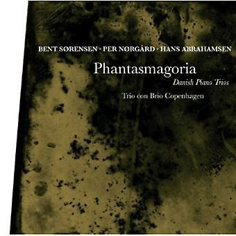 Sørensen/Norgard/Abrahamsen - Phantasmagoria: Danske klaver trioer [CD] USA import