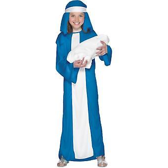 Mary kostuum Nativity kerst kostuum spelen