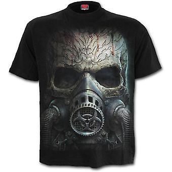 Spiral - BIO SKULL - Men's Black Short Sleeve T-Shirt