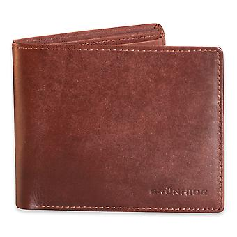 Brunhide Mens Genuine Leather Wallet with Coin Pocket Bifold Real Boxed 214-300