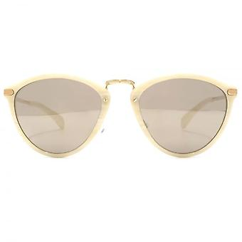 Paul Smith Hawley Sunglasses In Beige Silk