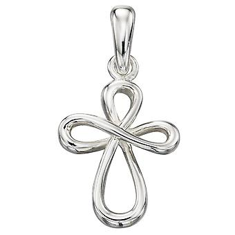 925 Silver Fashionable Cross Necklace