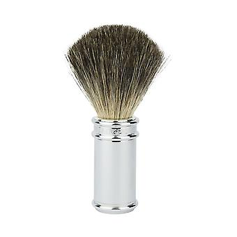 Edwin Jagger 81SB8911 Chrome Pure Badger Shaving Brush