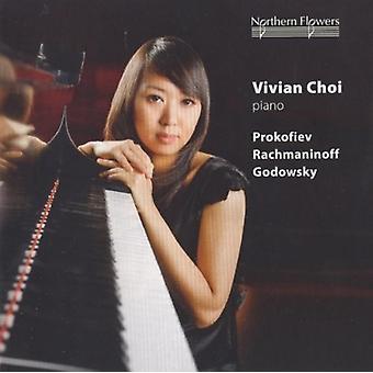 Choi - Vivian Choi Piano - Prokofiev Rachmani [CD] USA importerer