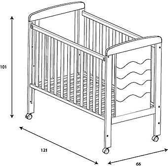 Micuna Cradle 120x60 Infinity White (Home , Babies and Children , Bedroom , Cribs)