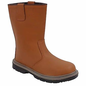 Portwest - Steelite Rigger Workwear Ankle Safety Boot S1P HRO (Unlined)