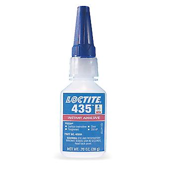 Loctite 435 Transparent Colourless Toughened Humidity-Cured Instant Adhesive 20G