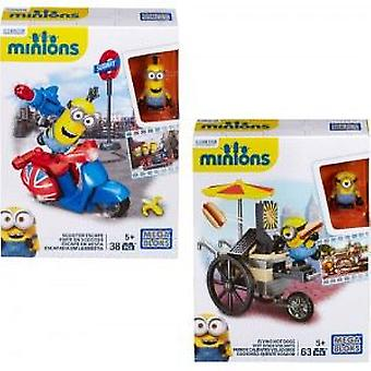 Megabloks Minions Diver Assortment (Toys , Constructions , Characters And Animals)