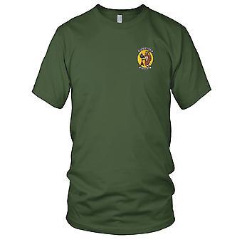 US Navy VA-65 DET-64 Vietnam 1967 Attack Squadron Embroidered Patch - Mens T Shirt
