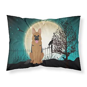 Halloween Scary German Shepherd Fabric Standard Pillowcase