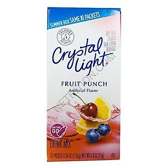 Crystal Light On The Go Fruit Punch Sugar Free Soft Drink Mix