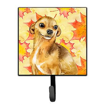 Carolines Treasures  BB9919SH4 Chihuahua Fall Leash or Key Holder
