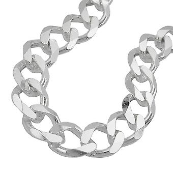 Ketting open curb chain 11mm 925 sterling zilver 55cm