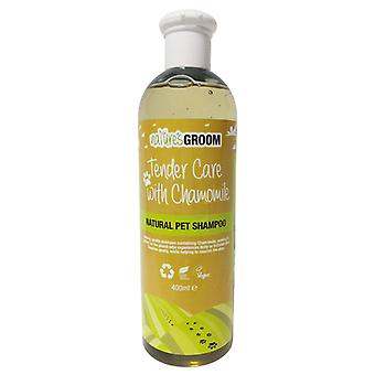 Natures Groom Tender Care With Chamomile Shampoo 400ml