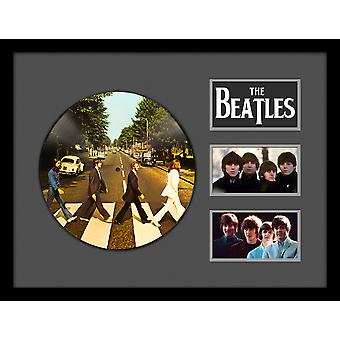 The Beatles - Abbey Road - Picture Disc LP Album Custom Framed