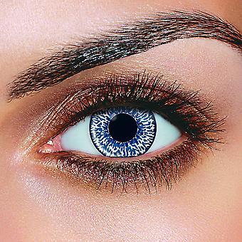 Blue 2 Tone Contact Lenses (Pair)