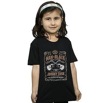 Johnny Cash Girls Guitar Label T-Shirt