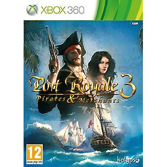 Port Royale 3 pirater og købmænd (Xbox 360)