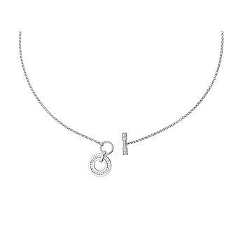 Orphelia Silver 925  Necklace With T-Lock Zirconium  ZK-2781