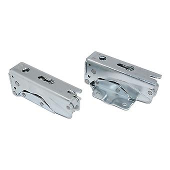 Fridge Freezer Integrated Door Hinge Set Left Right Pair Fits LG