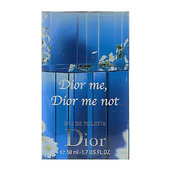 Dior Dior mig, Dior mig inte Eau De Toilette Spray Limited Edition 1,7 Oz/50 ml ny