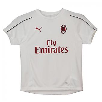 2018-2019 AC Mailand Puma Trainingsshirt (weiss) - Kinder