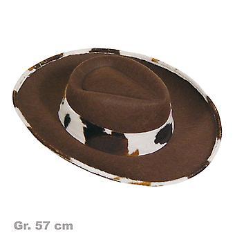Sombrero de vaquero occidental hombre