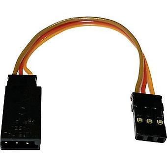 Servo Adapter kabel [1 x Futaba plugg - 1 x JR socket] 90 mm 0,14 mm² Modelcraft