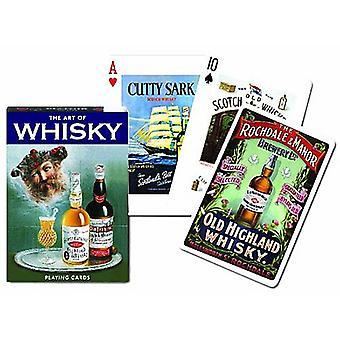 Kunsten at Whisky sæt med 52 spillekort + jokere