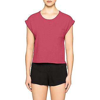 Calvin Klein Cropped T-shirt  Shift- Transpink