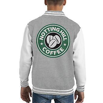 Notting Hill Coffee Starbucks Kid's Varsity Jacket