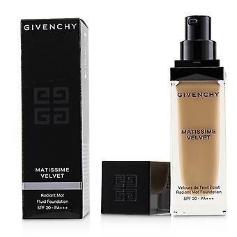 Givenchy Matissime Velvet Radiant Mat Fluid Foundation SPF 20 - #3.5 Mat Vanilla - 30ml/1oz