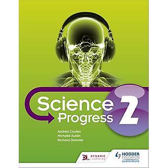 KS3 Ciência progresso estudante - livro 2 por Michelle Austin - Andrea Coat