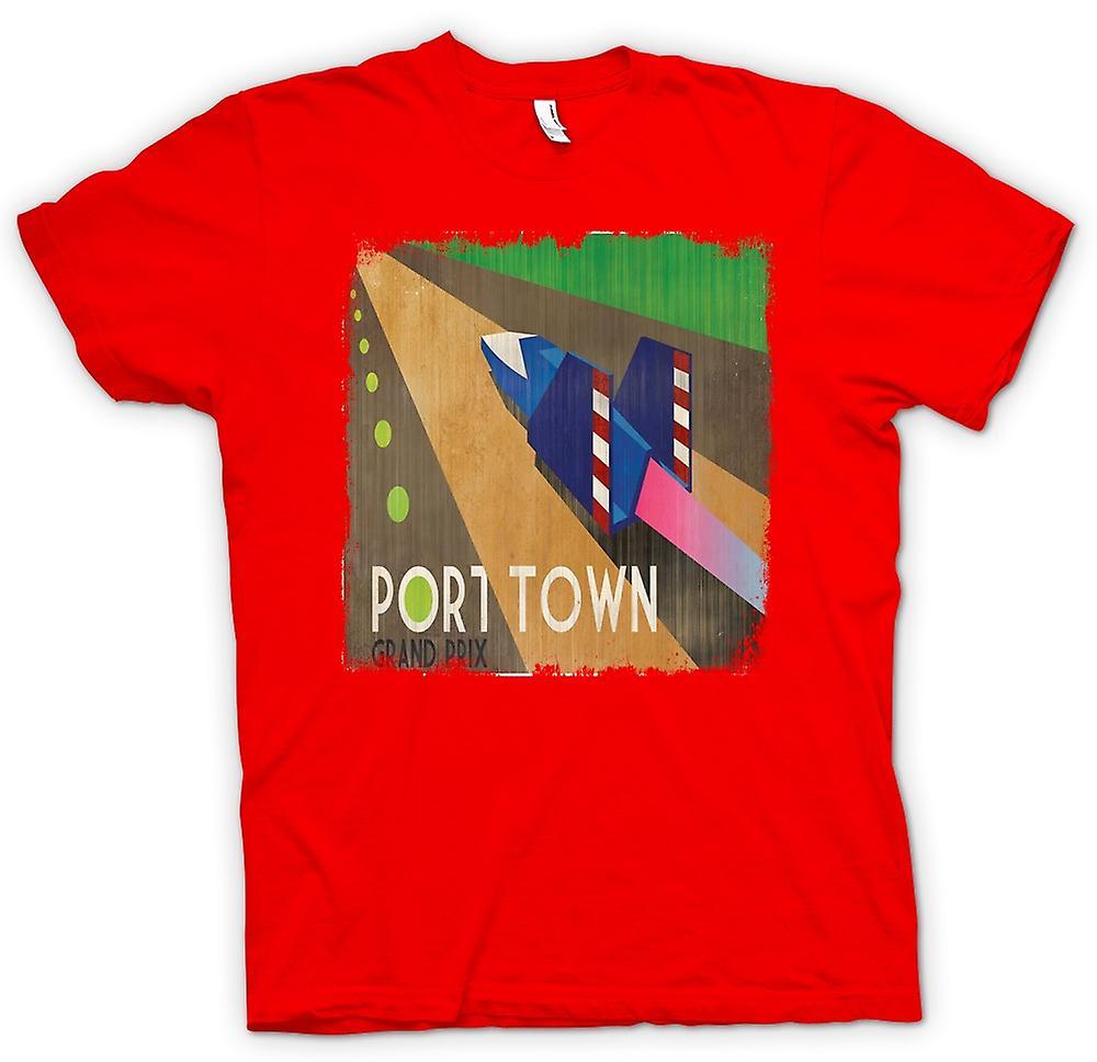 Hommes T-shirt - F Zéro Port Town - Grand Prix - Gamer