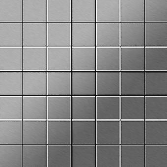 Mosaico de metal sólido Acero inoxidable ALLOY Attica-S-S-MB