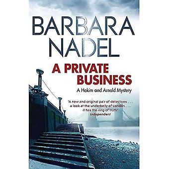 Een particuliere onderneming: Een Hakim en Arnold mysterie: 1