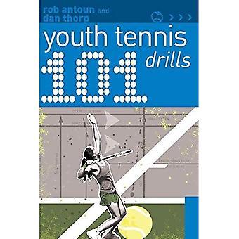 101 ungdom Tennis Drills
