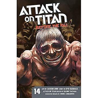 Attaque sur Titan: avant la chute de 14