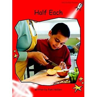Half Each: Level 1: Early (Red Rocket Readers: Fiction Set B)
