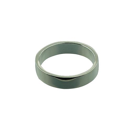 Silver 5mm plain flat Wedding Ring Size Z
