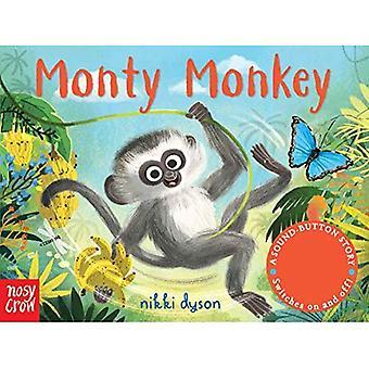 Histoires de bouton-Sound: Monty Monkey (une touche son histoire) [cartonné]