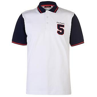 Pierre Cardin Mens Number Polo Shirt T Shirt T-Shirt Short Sleeve Tops