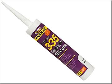 Everbuild 335 Construction Silicone Transparent 310ml