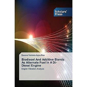 Biodiesel et mélanges additifs comme carburant de remplacement dans un moteur Diesel Di par Vincent Appa Rao belier