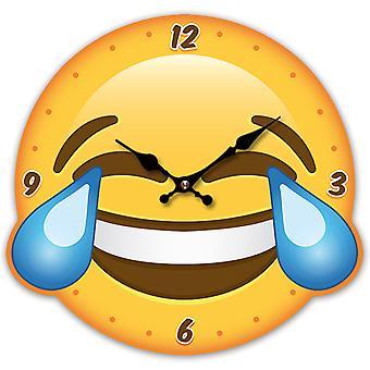 Puckator Emotive LOL Shaped Picture Clock