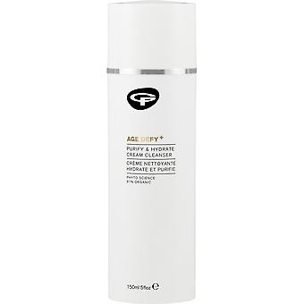 Green People Age Defy+ Purify & Hydrate Cream Cleanser
